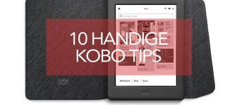 10 handige tips voor je Kobo-e-reader