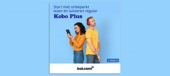 Ook luisterboeken via abonnementsdienst Bol.com en Kobo